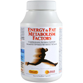 Energy & fat metabolism factors