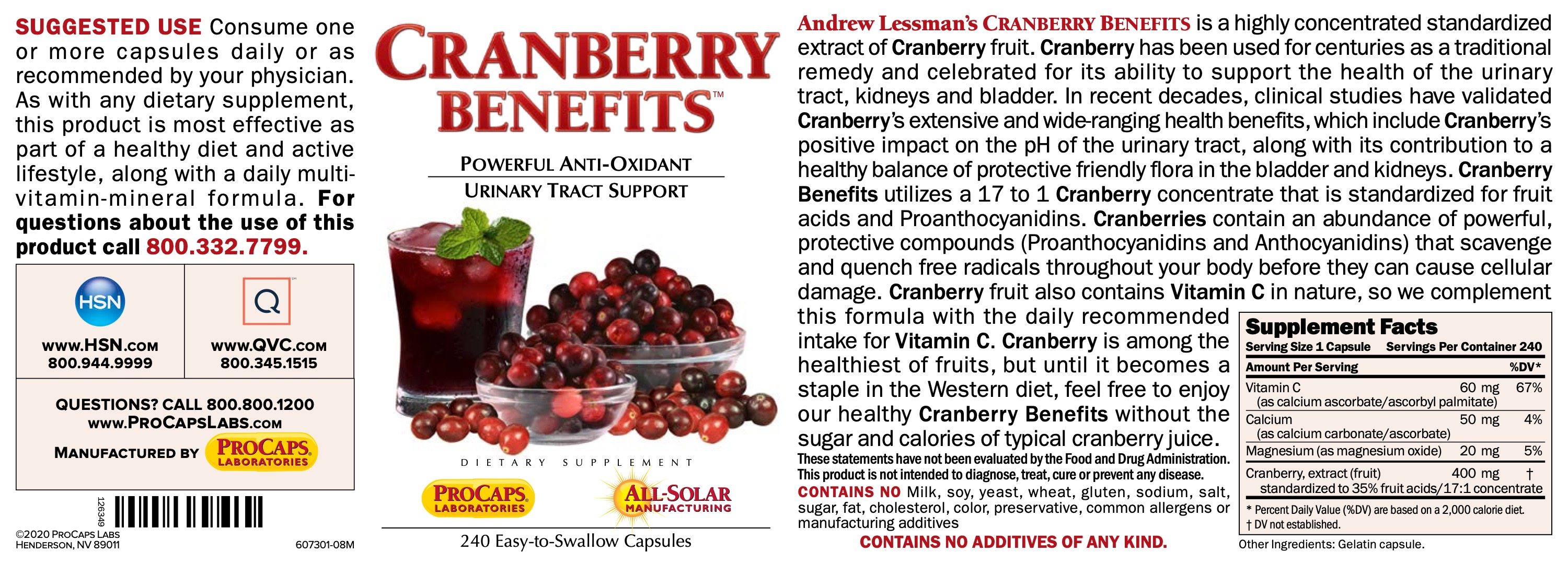 Cranberry-Benefits-Capsules-Anti-oxidants