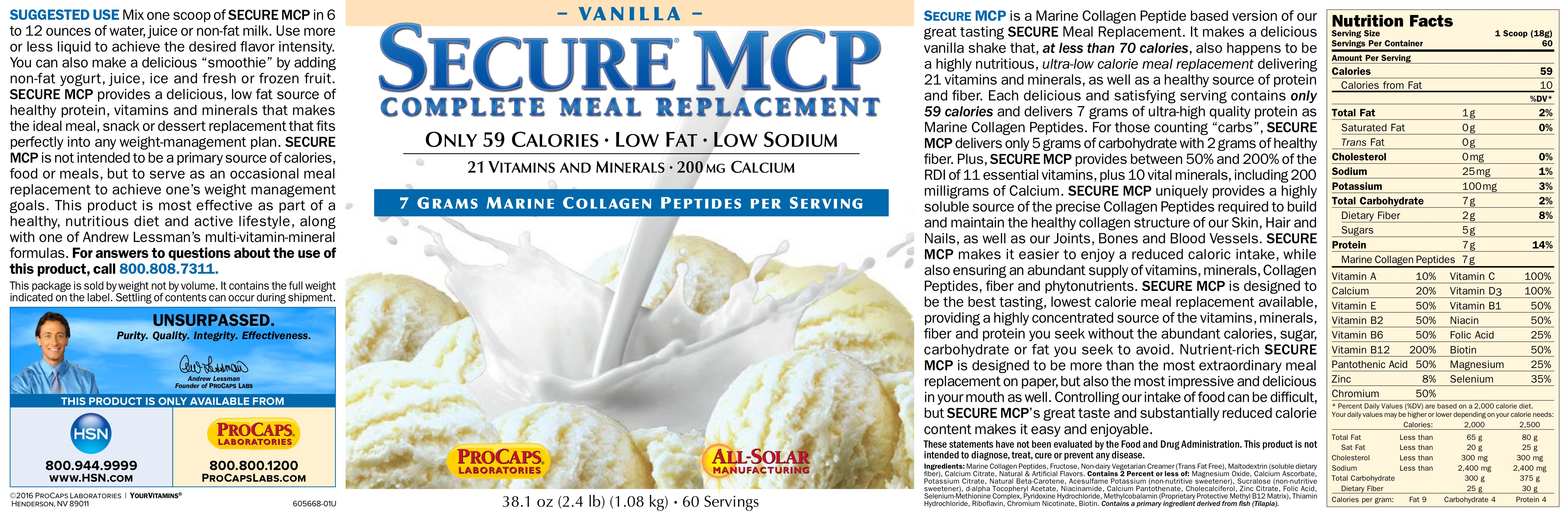 This is an image of Fabulous Meal Replacement Private Label