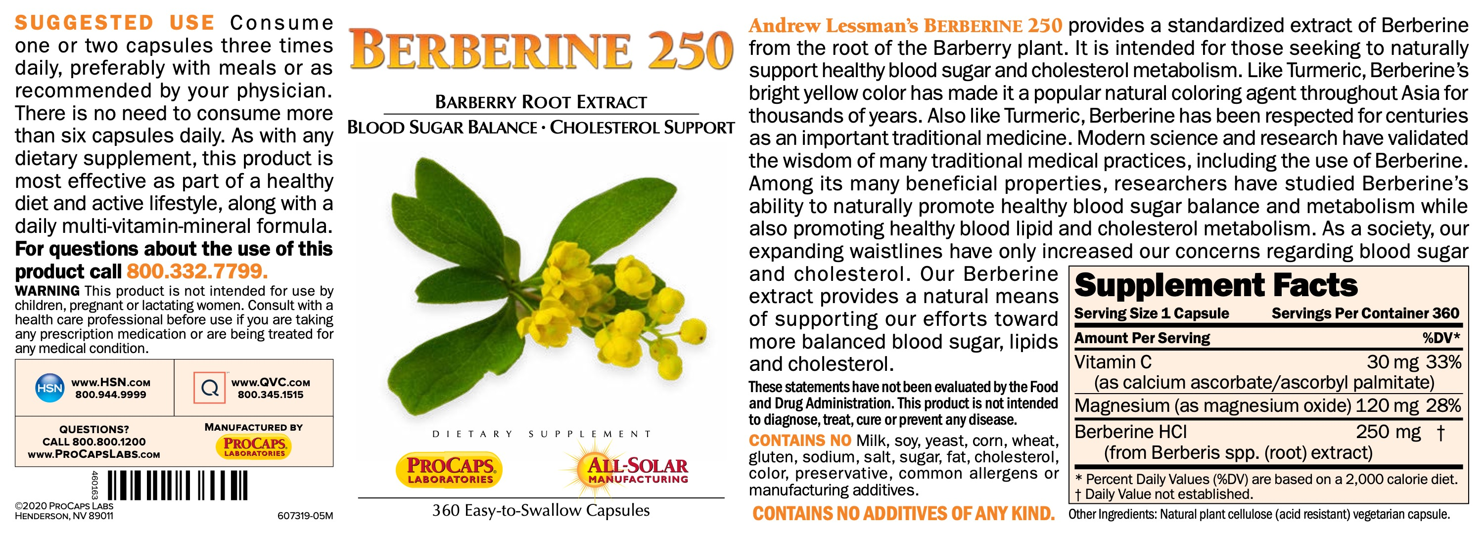 Berberine-250