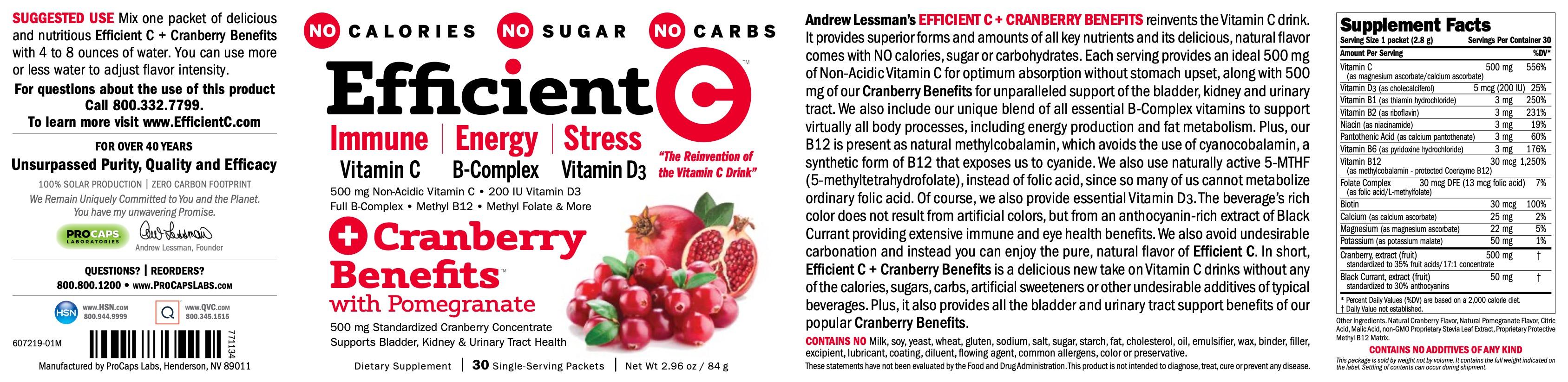 Efficient-C-plus-Cranberry-Benefits-Vitamin-C
