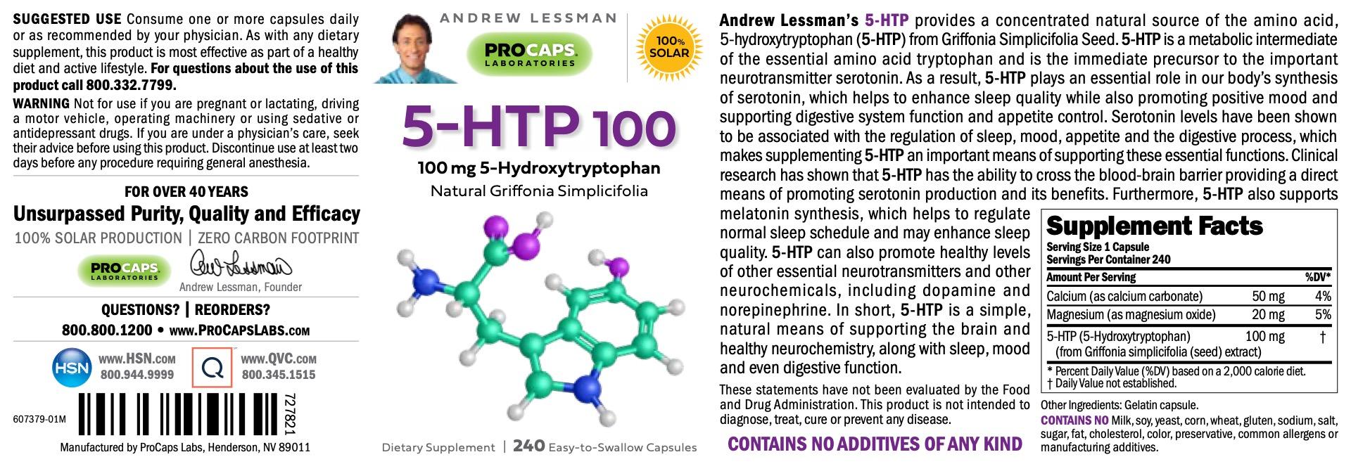 5-HTP-100-Capsules-Amino-Acids