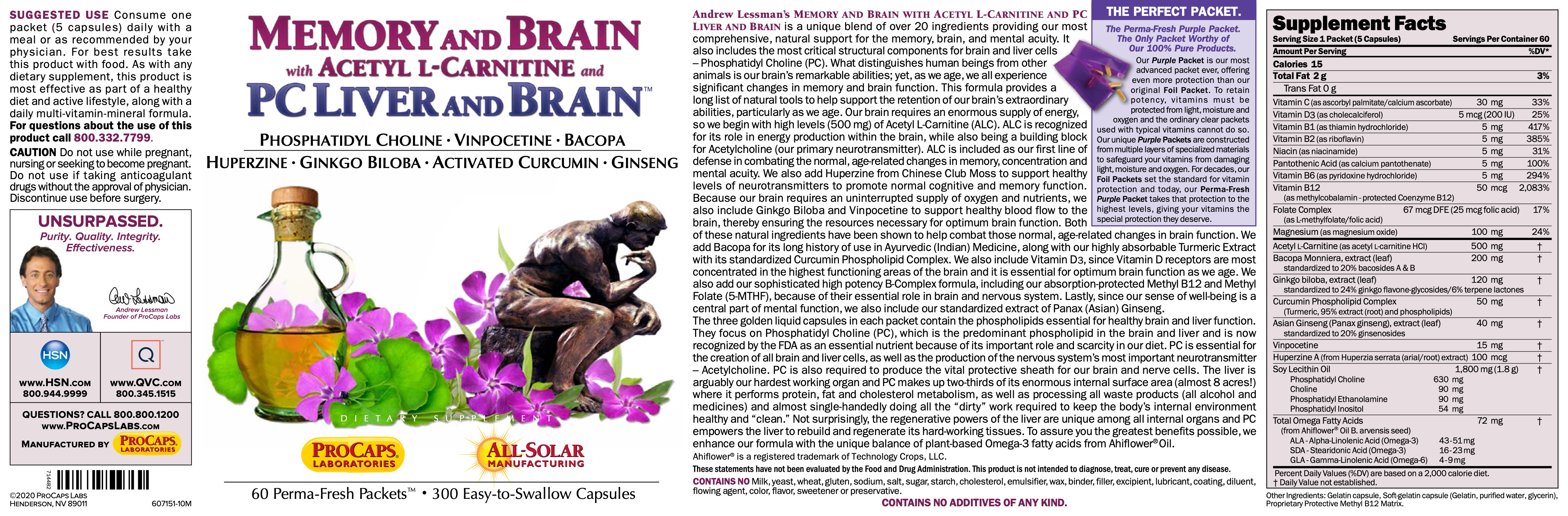 Memory-And-Brain-with-Acetyl-L-Carnitine-and-PC-Liver-and-Brain-Packets-Nervous-System-Support