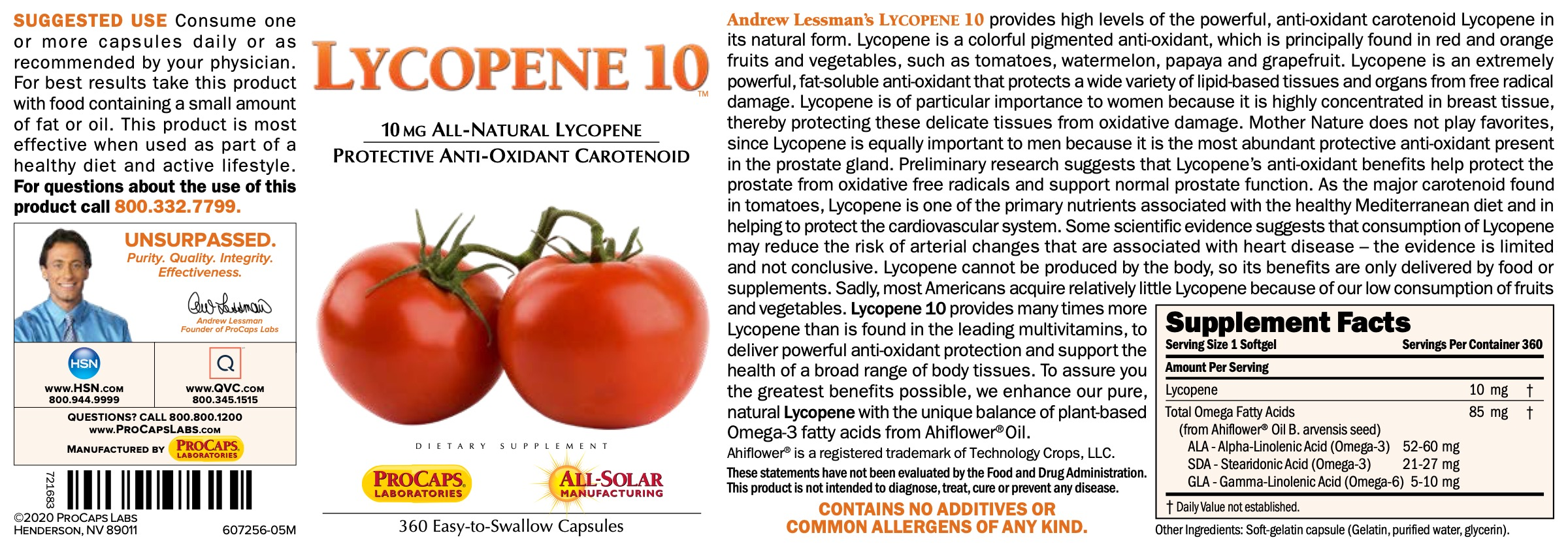 Lycopene-10-Softgels-Anti-oxidants