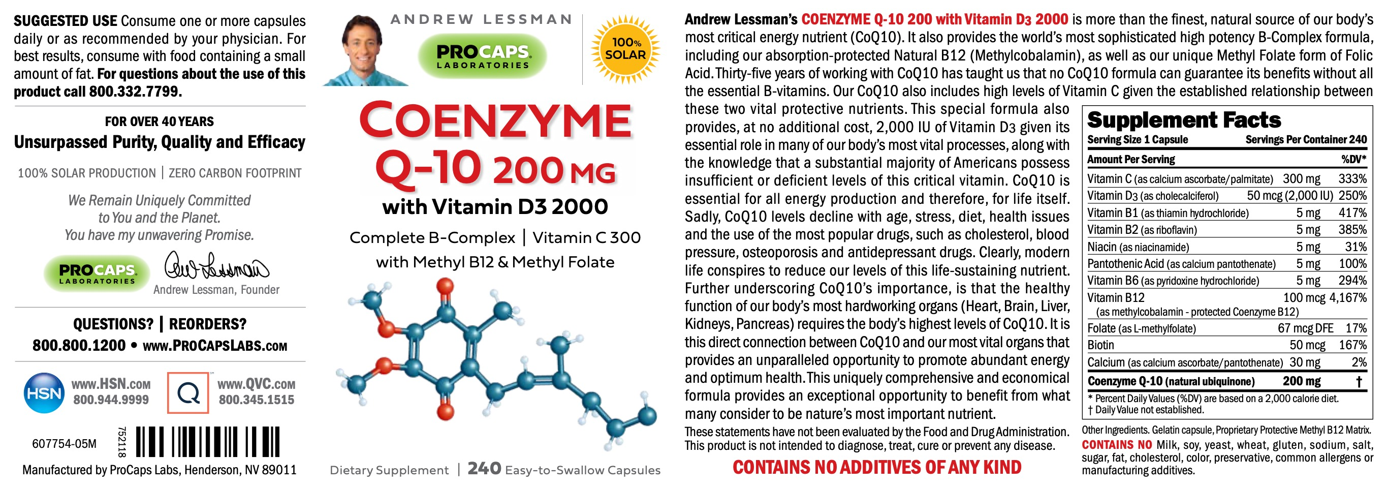 CoEnzyme-Q-10-200-mg-with-Vitamin-D3-2000-Capsules-Anti-oxidants