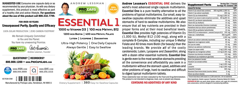 Essential-1-with-1000-IU-Vitamin-D3-Capsules-Multivitamins