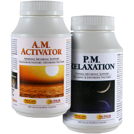 A.M. Activator and P.M. Relaxation Kit™