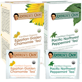 Tea - Variety Kit - Egyptian Golden Chamomile Tea & Peppermint Tea