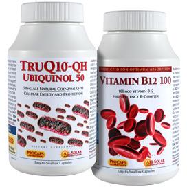 TruQ10® -50 with Vitamin B12-100