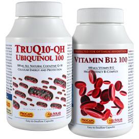 TruQ10® -100 with Vitamin B12-100