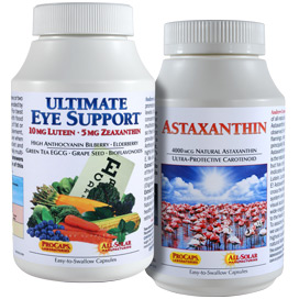 Ultimate Eye Support plus Astaxanthin Bundles - Today's Special