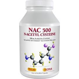 NAC-500 N-Acetyl Cysteine
