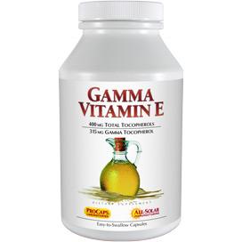 Gamma Vitamin E