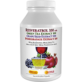 Resveratrol-100-with-Green-Tea-100-Grape-Seed-100-Pomegranate-100
