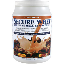 Secure® Whey Complete Meal Replacement - Chocolate