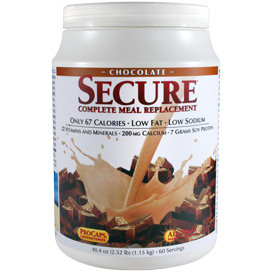 Secure® Soy Complete Meal Replacement - Chocolate