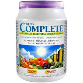 Multivitamin - Men's Complete™ with Maximum Essential Omega-3 1,000 mg