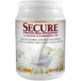 Secure® Soy Complete with ALC - Vanilla