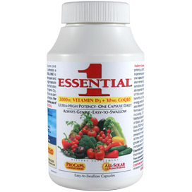 Essential-1™ with 2000 IU Vitamin D3 and CoQ10-30