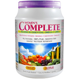 Multivitamin - Women's Complete™ with Maximum Essential Omega-3 1000 mg