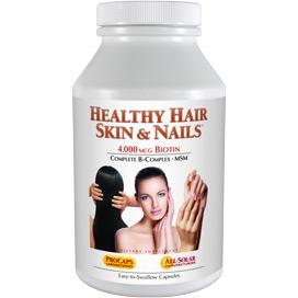 Healthy Hair Skin And Nails